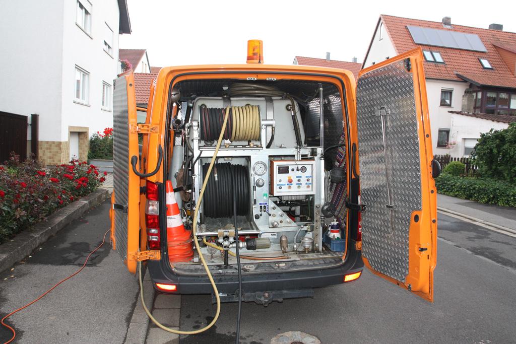 TV Inspektion von Abwasserleitungen - Kanal Türpe